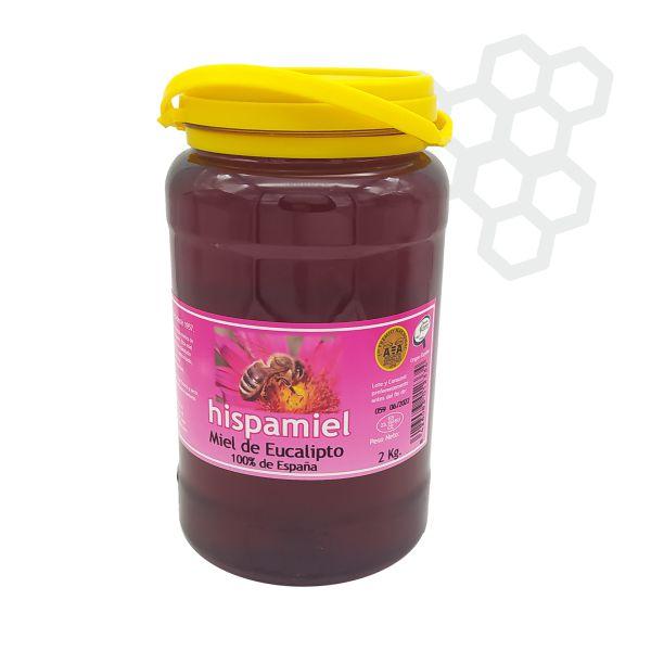 2 kilogramos de miel de eucalipto.