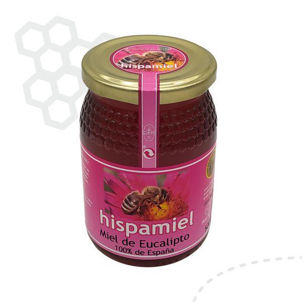 Tarro de 500 gramos de miel de eucalipto.