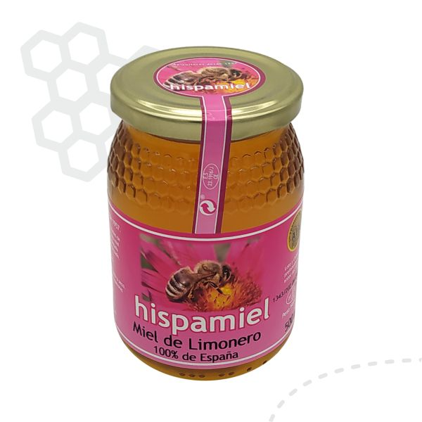 Tarro de 500 gramos de miel de limonero.