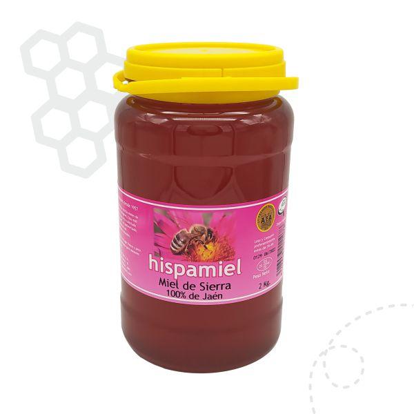 2 kilogramos de miel multifloral de sierra.