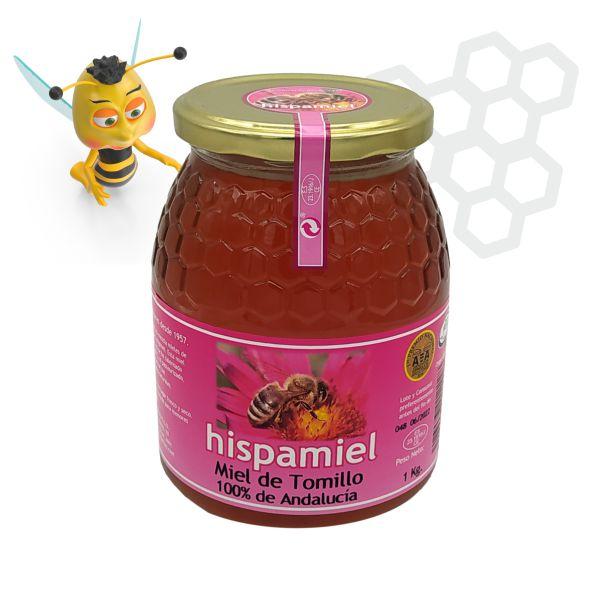 Miel de tomillo. Tarro de 1 kg